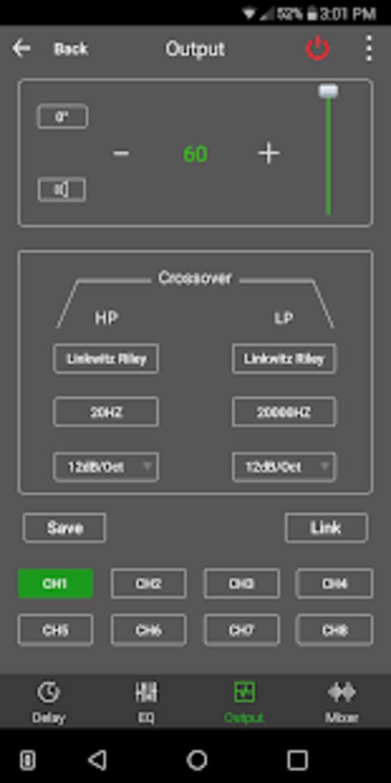 Dayton Audio DSP Control
