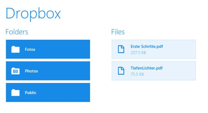 Dropbox for Windows 10