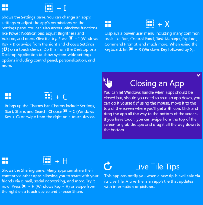 Windows 10 Cheat Keys for Windows 10