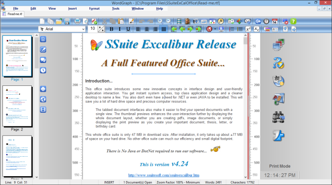SSuite Office WordGraph