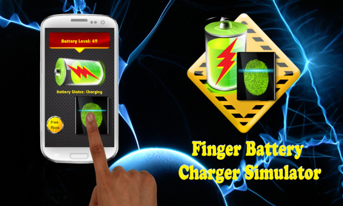 Finger Battery Charger Prank