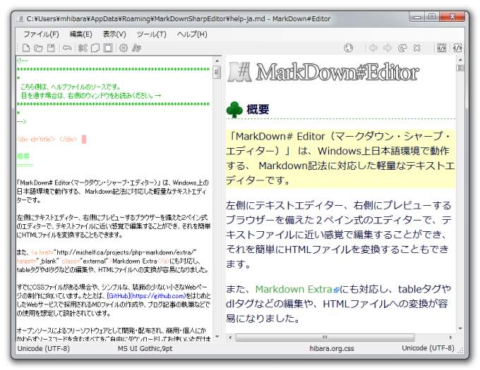 MarkDown#Editor