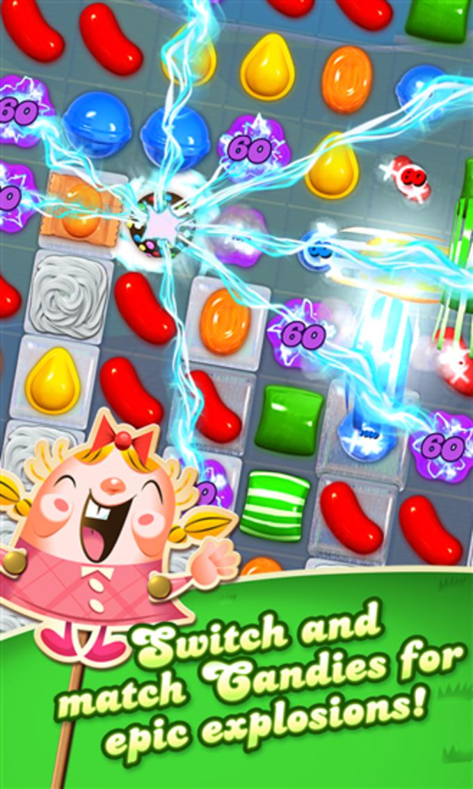 Candy Crush Saga per Windows 10