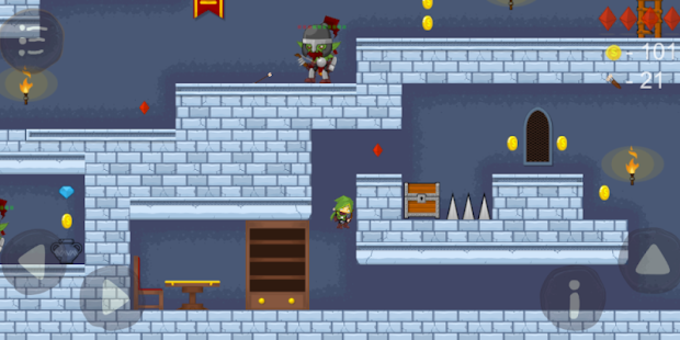 Evil Dungeon Action 2D platformer
