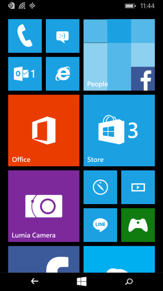 Windows 10 Technical Preview für Smartphones