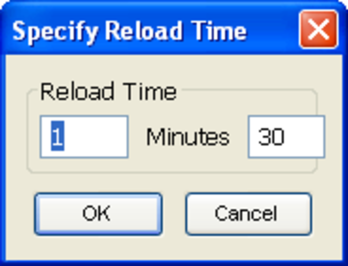 Reload Every