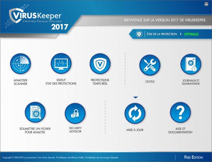 VirusKeeper 2017 Free Edition