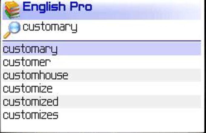 MSDict English Pro Dictionary
