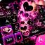 Sparkling Heart Keyboard Theme