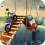 Bike Stunt Mega Tracks Sky Ramp