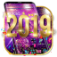 Happy New Year 2019 theme