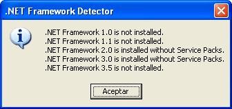 .NET Framework Detector