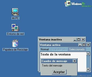 Win ME Desktop Theme