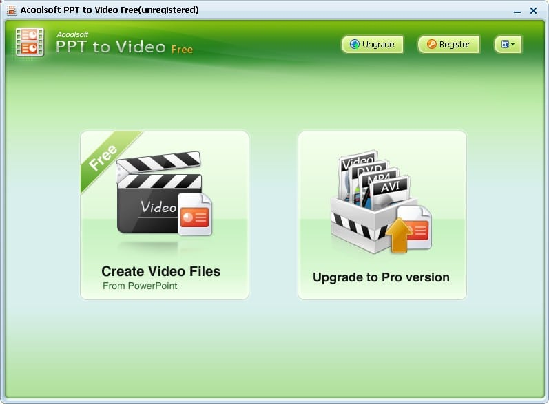 Acoolsoft PPT to Video Free