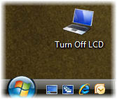 Turn Off LCD