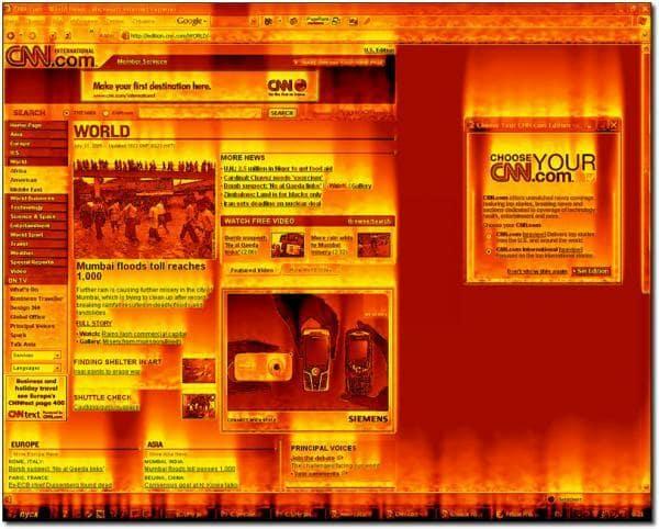 Fantastic Flame Screensaver