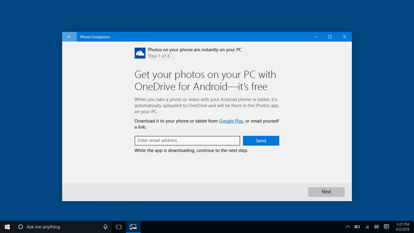 Microsoft Phone Companion