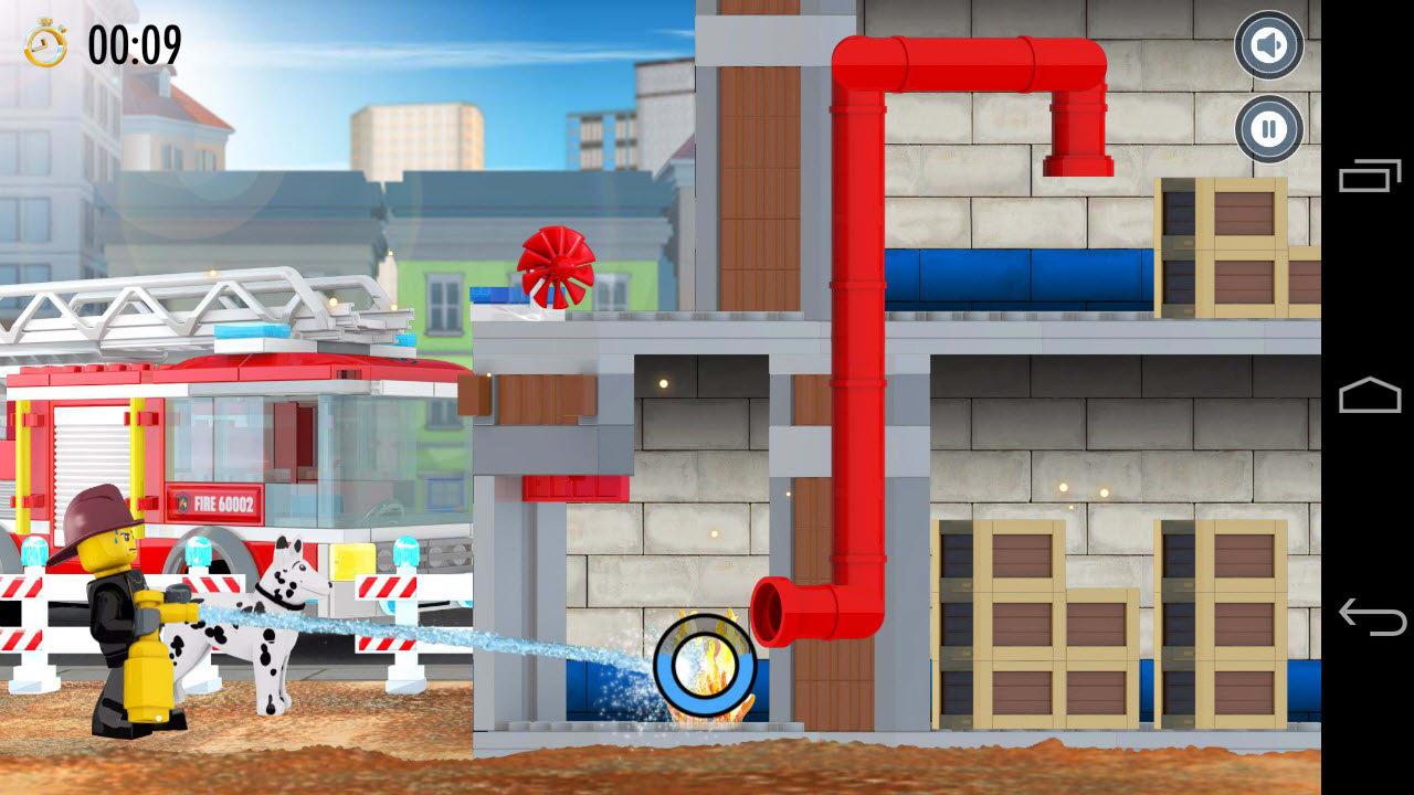 LEGO City Fire Hose Frenzy