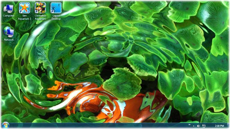 Liquid Live Desktop Wallpaper