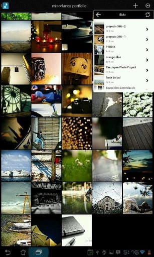 Portfolio for Android