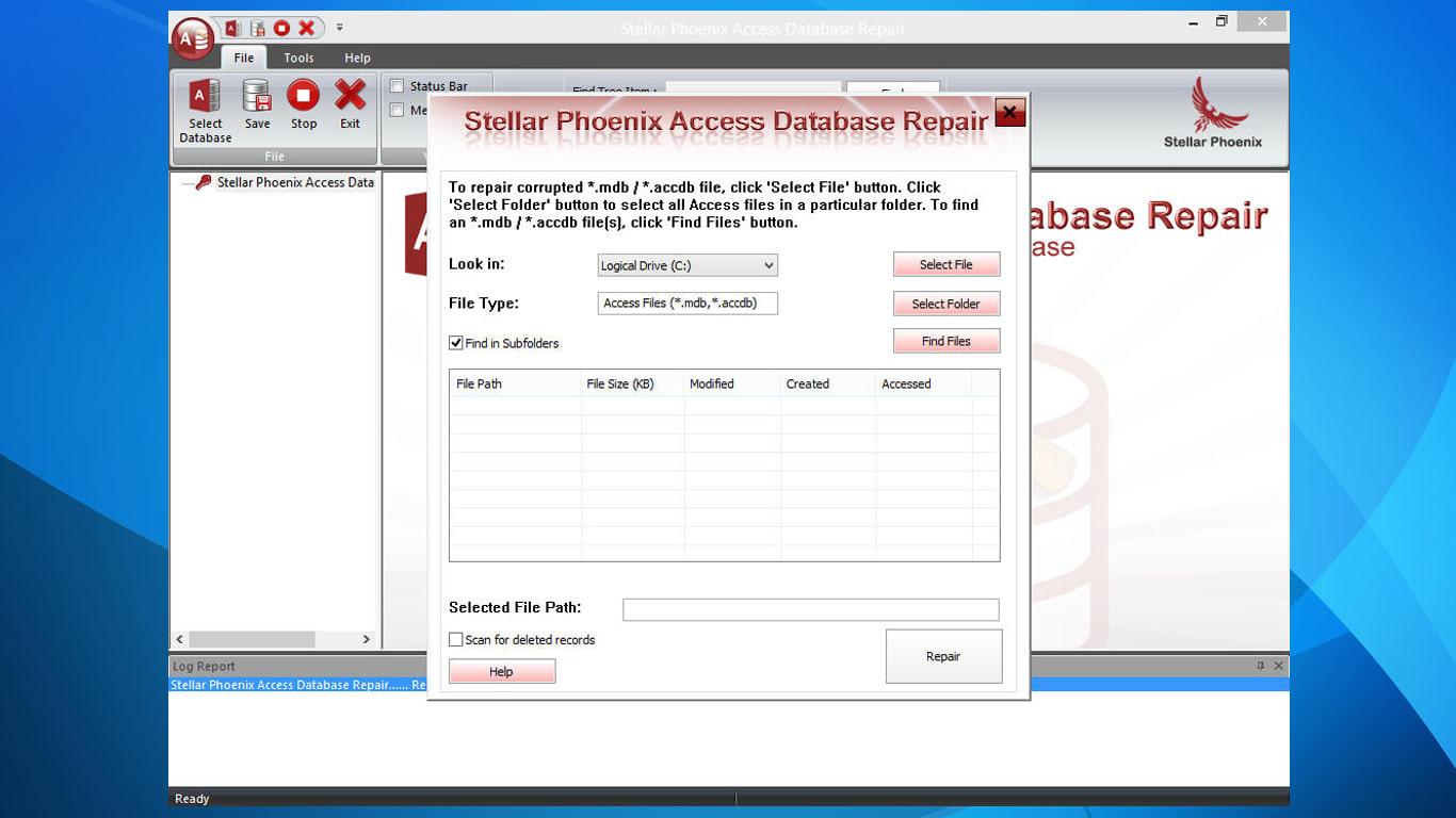 Stellar Phoenix Access Database Repair