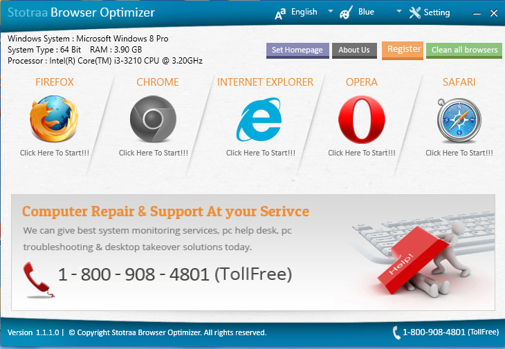 Stotraa Browser Optimizer