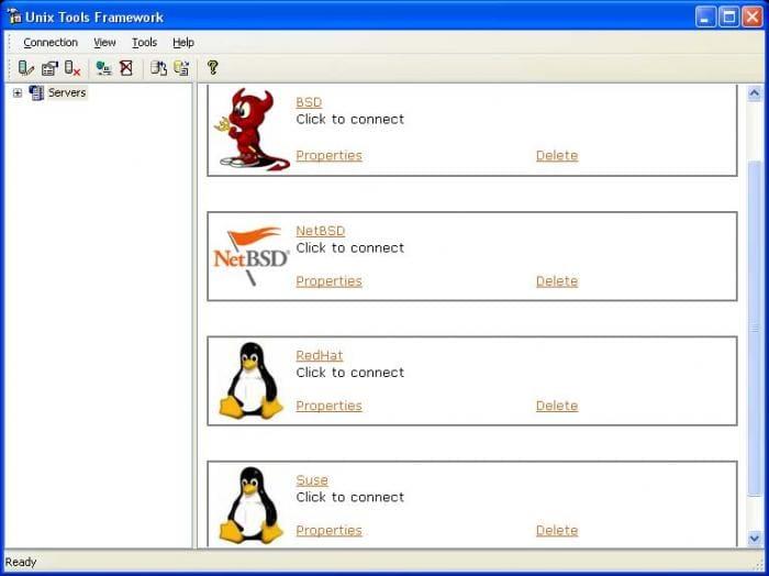 Unix Tools Framework
