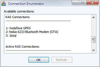 Connection Enumerator