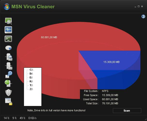 MSN Virus Cleaner