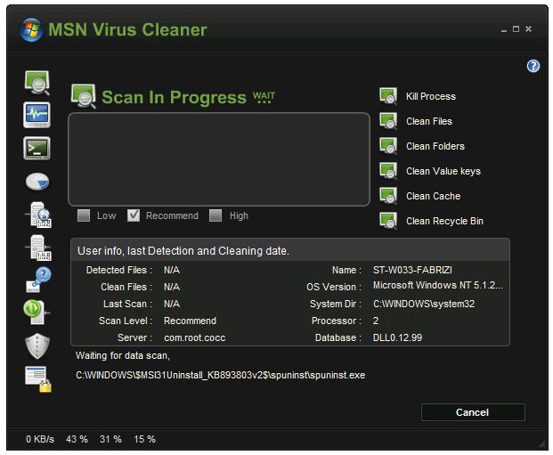 Instant Messenger Cleaner