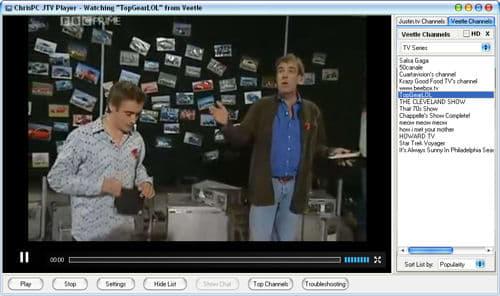 ChrisPC JTV Player