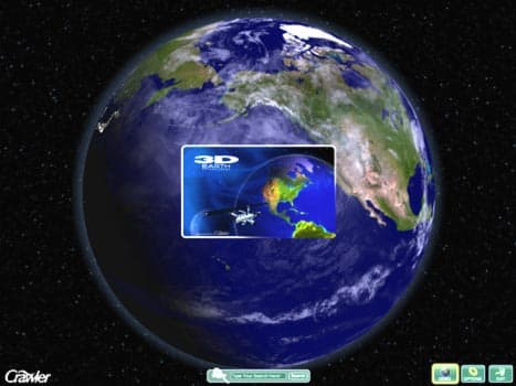 3D Earth Screensaver