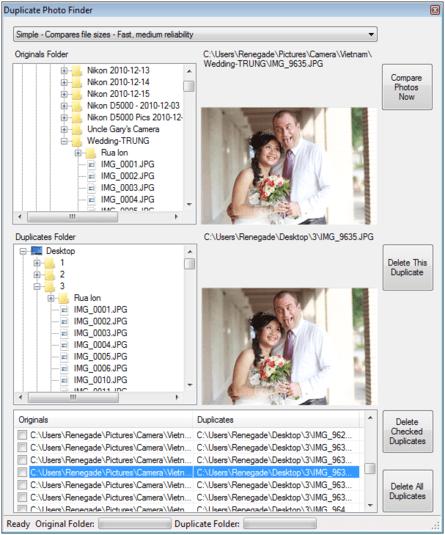 Duplicate Photo Finder