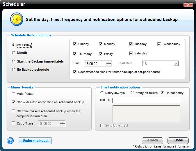 IDrive Online Backup Classic