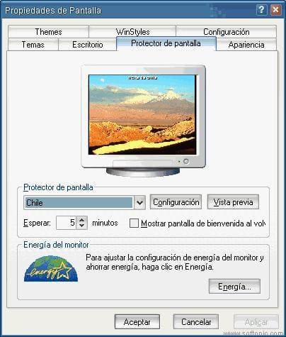 Chile Screen Saver