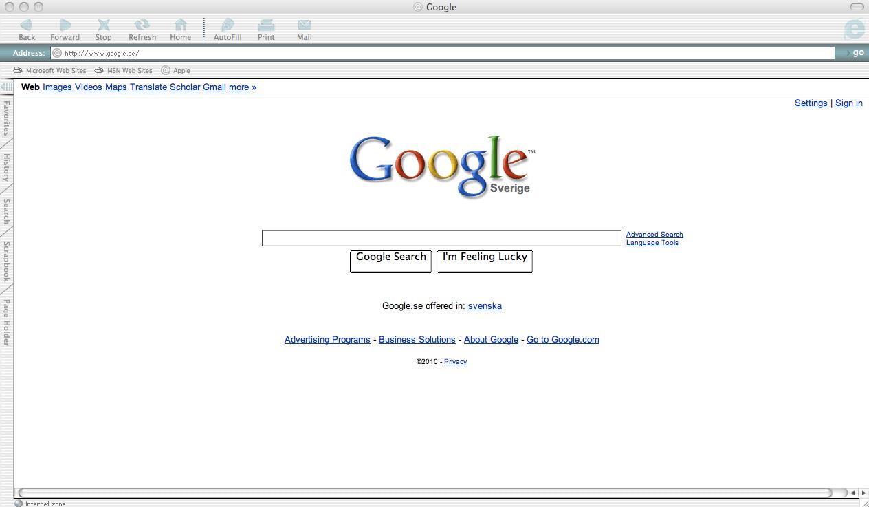 Download Latest Version Of Internet Explorer For Mac