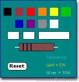 Resistor Color Coder