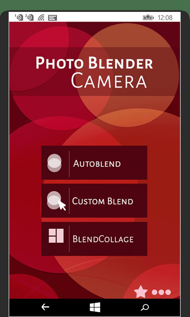 Photo Blender Camera