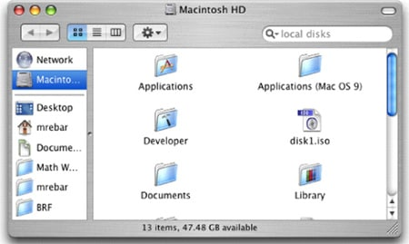 Clean the Finder Preferences