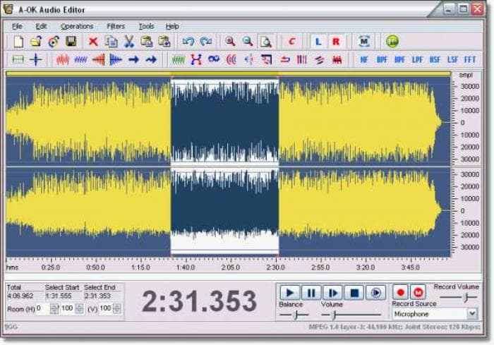 A-OK Audio Editor