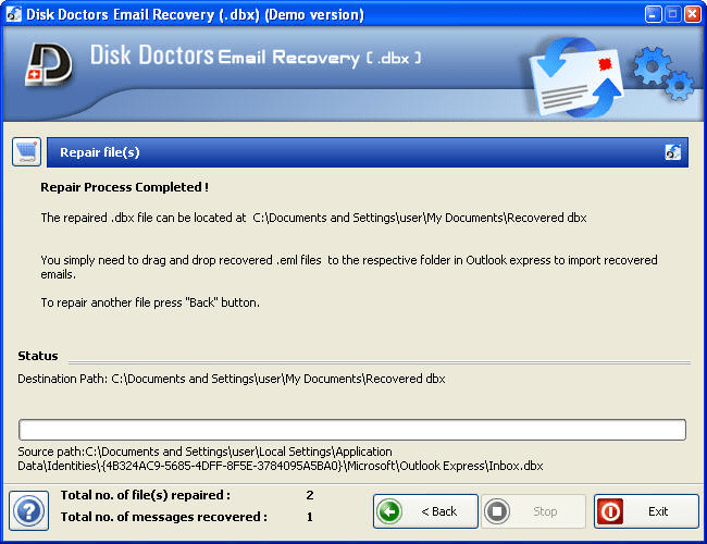 Outlook Express Email Recovery Software