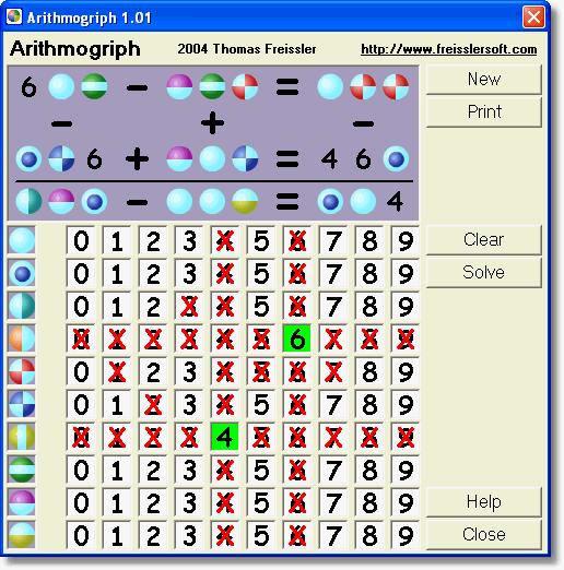 Arithmogriph