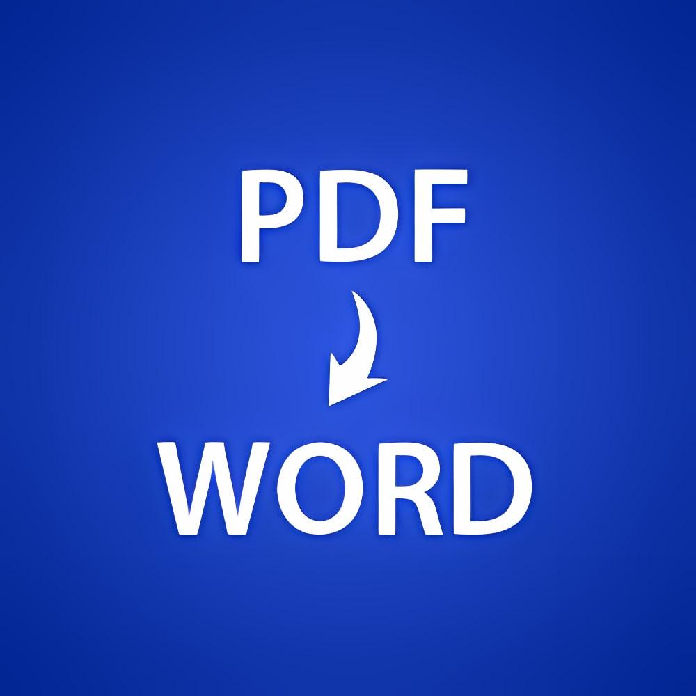 PDF To Word Converter 4.9