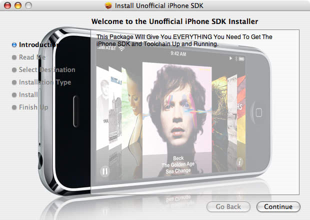 iPhone SDK Install