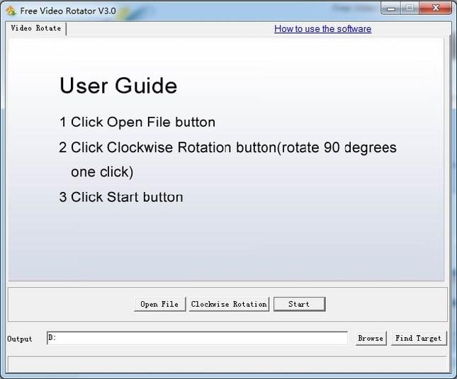 Free Video Rotator