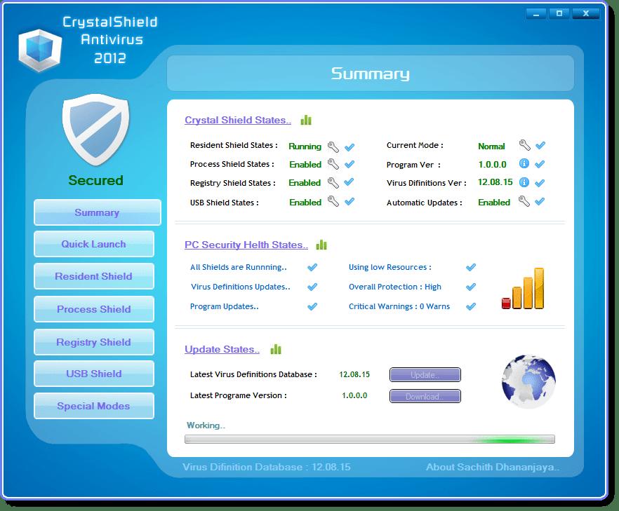 Crystal Shield Antivir