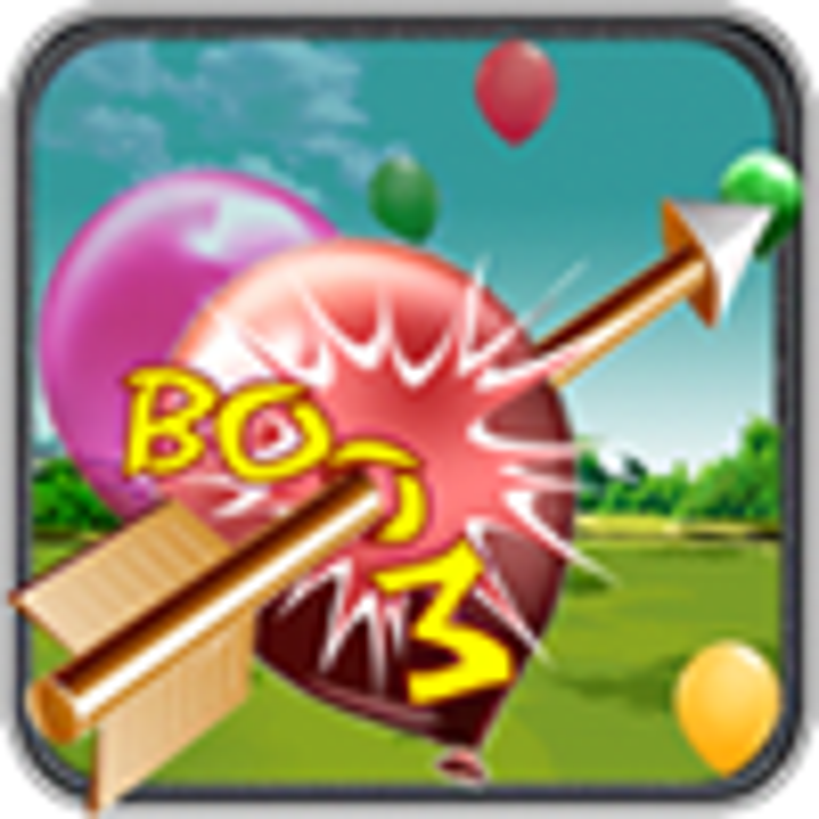 Bow Arrow and Balloon