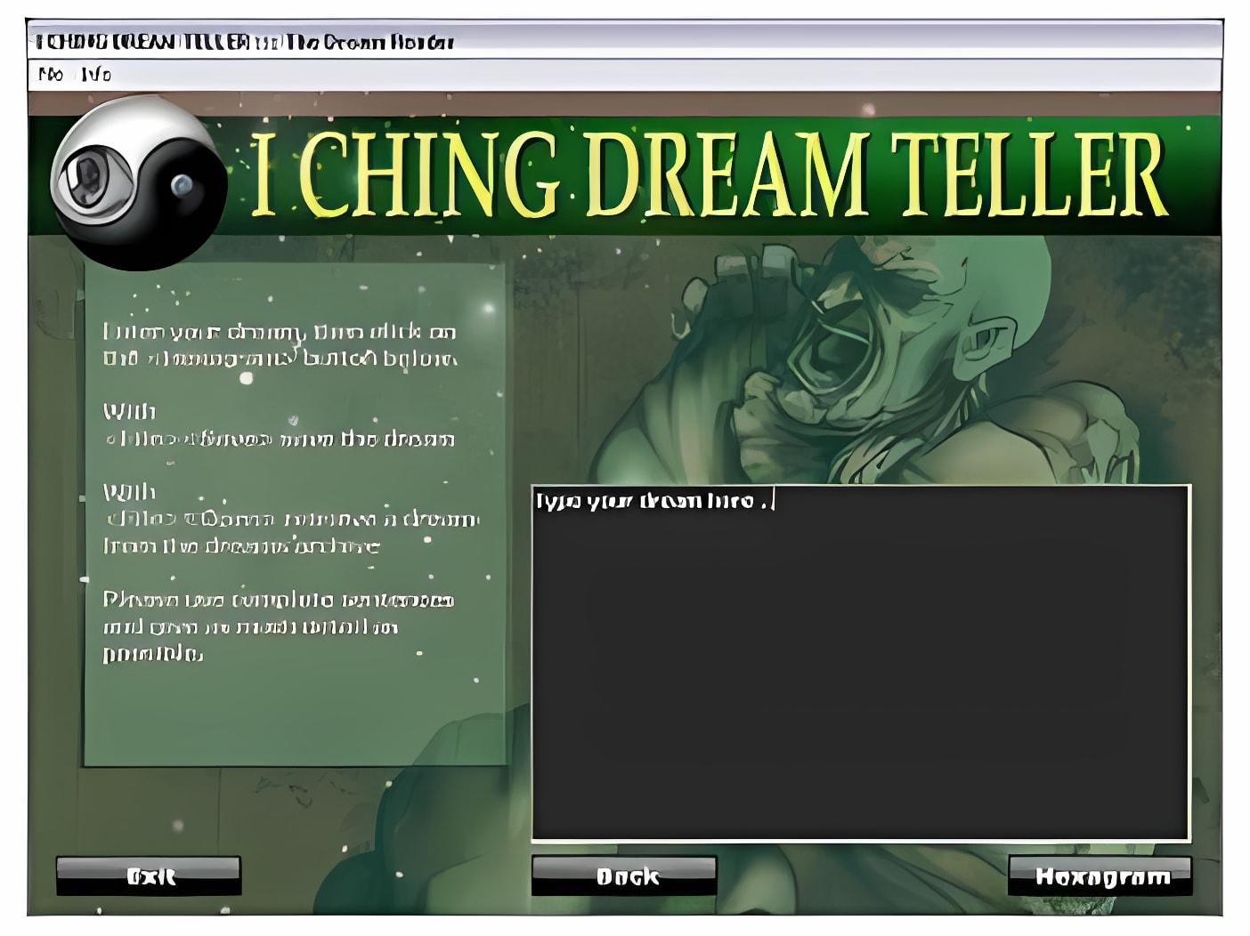 I Ching Dream Teller