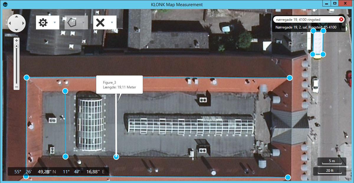 KLONK Map Measurement