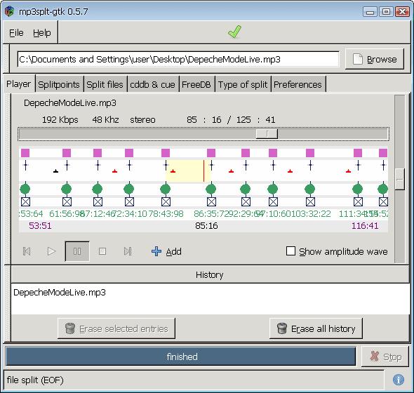 MP3splt